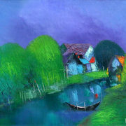 62_evening_at_the_canal_card