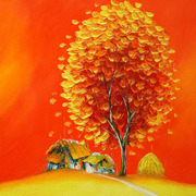 82_orange_tree_in_village_02_card