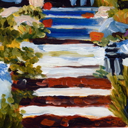 B3_staircases_acrylic_on_board_5