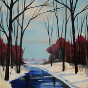 Winter_forest_river_card