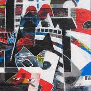 Carnevale_collage_e_acrilico_su_tavola_34x34_2012_card