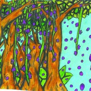 Trees_purple_pettals_card