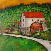Guilford_mill_2011_24_x_30_inches_oil_on_canvas_card