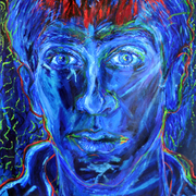 Blue_self-portrait_ii_card