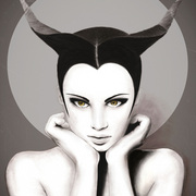 Taurus_woman__print_i_canvas__12x16_card