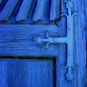 Blue_door_keyhole2_painting_card