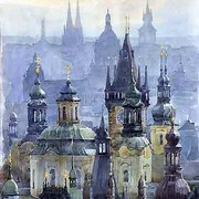 Prague_towers_card