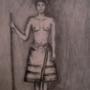 Antonio_cayanan-ifugao_woman_carrying_basket_2011_9x12_inches_graphite_on_papel_card