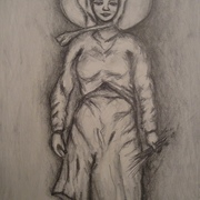 Antonio_cayanan-woman_plnatng_rice_2011_9x12_inches_graphite_on_papel_card