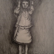 Antonio_cayanan-ifugao_girl_2011_9x12_inches_graphite_on_papel_card