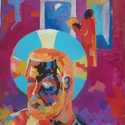 Self-portrait-3_36x24_acrylic_on_canvas_april-november_1987_ny_card