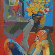 Both_of_them_30x20_acrylic_on_canvas_1980_ny_card