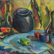 Still_life_with_peppers_22x26_oil_on_canvas_1977_yerevan_card