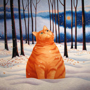 Ginger_cat_in_snow_003_card