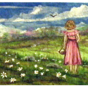 Barefoot_on_daisy_hill_card
