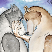 Two_wolves_card