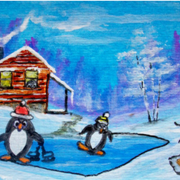Penguins_winter_break_card
