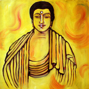 Budha_in_yellow_card
