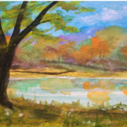 Autumn_by_the_lake_card