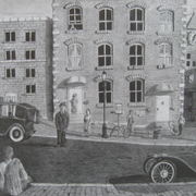 Inner_city__graphite_pencil__25_x19__c285_card