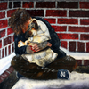 008__homeless_man_with_dog__24x30_oil_on_canvas_thumb