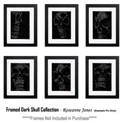 Framed-darkskull-collection_card