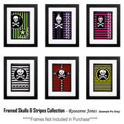 Framedskullsandstripescollection_card