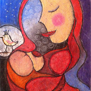 Mother_s_love_2___by_yael_burin_card