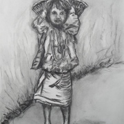 Antonio_cayanan-ifugao_girl_2_july_21__2012_9_x_12_inches_charcoal_on_paper_card