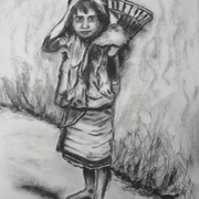 Antonio_cayanan-ifugao_girl_3_july_21__2012_9_x_12_inches_charcoal_on_paper_card