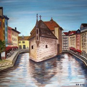 Painting_-_annecy-a_9-17-12_card