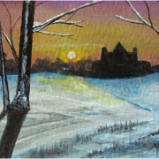 Sunset_at_the_manor_card