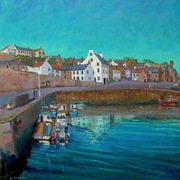 Crail_harbour_2012_card