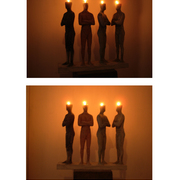Candle_men_-_2012_card