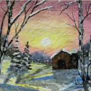 Snowy_sunrise_card