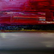 Red_sky_breathing_ii_60cmx60cmx5cm_oil_card