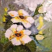 Whitewildrose30x30