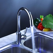 Chrome_finish_kitchen_faucet_with_color_changing_led_light_card