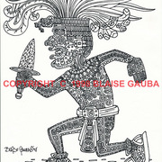 Aztec_warrior_pen___ink_copyright_1998_blaise_gauba_v001_card