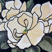Magnolias_under_glass_card