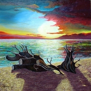Tramonto_di_fine_estate_olio_su_tela_70x70_20o3_card