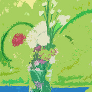 Flower_table_card