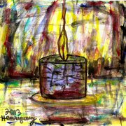 A_candle_of_hope_burns_card