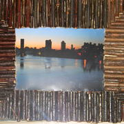 Framedbostoncambridgeskylineatdawn2011_card