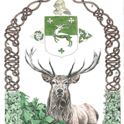 Red_stag_with_knotwork__and_powers_coat_of_arms_card