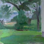 Side_yard__thomasville__2006__oil_on_linen__12_x_18_in_card