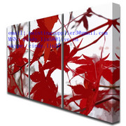 Red_leaves_paint_canvas_prints_angled_card