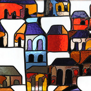 Hr_580_houses_50_x_50_cm_2013_card