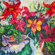My_tropical_garden__oil_11x14_inches_card