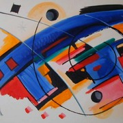 My_way_2004_70x100cm_oil_card